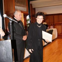 Babes Ardai Erika a kitüntetéssel