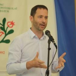 Beke Márton, az EMMI Kultúráért Felelős Államtitkárság Közművelődési Főosztályának vezetője