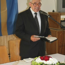 Ft. Horkay László, az MNC elnöke, ny. püspök (Kárpátalja)
